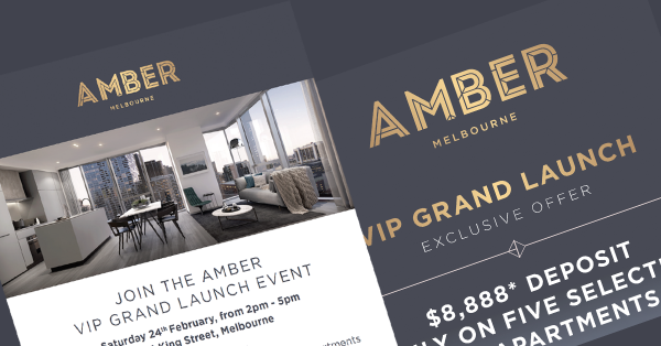 Amber Melbourne is a hit with buyers